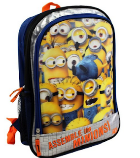 minions despicable me backpack for kids