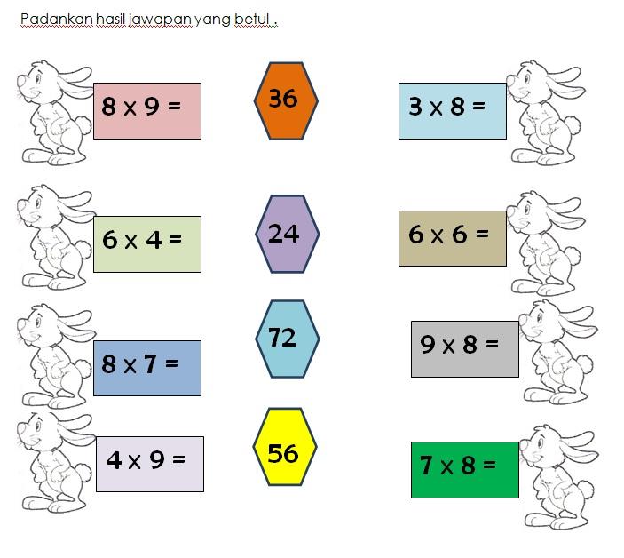 Latihan Matematik Tahun 5