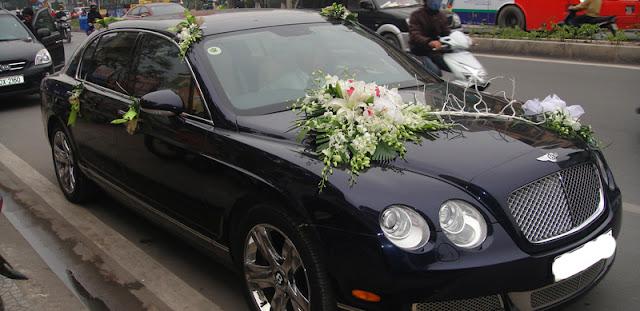 Xe cưới Bentley tại Hà Nội
