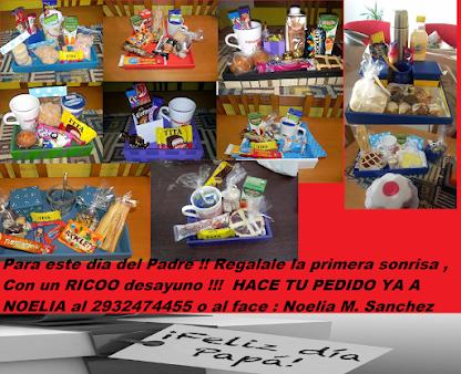 PARA ESTE DÍA DEL PADRE !!! REGALALE AL TUYO LA PRIMER SONRISA DEL DÍA !! CON UN RICO DESAYUNO !!!