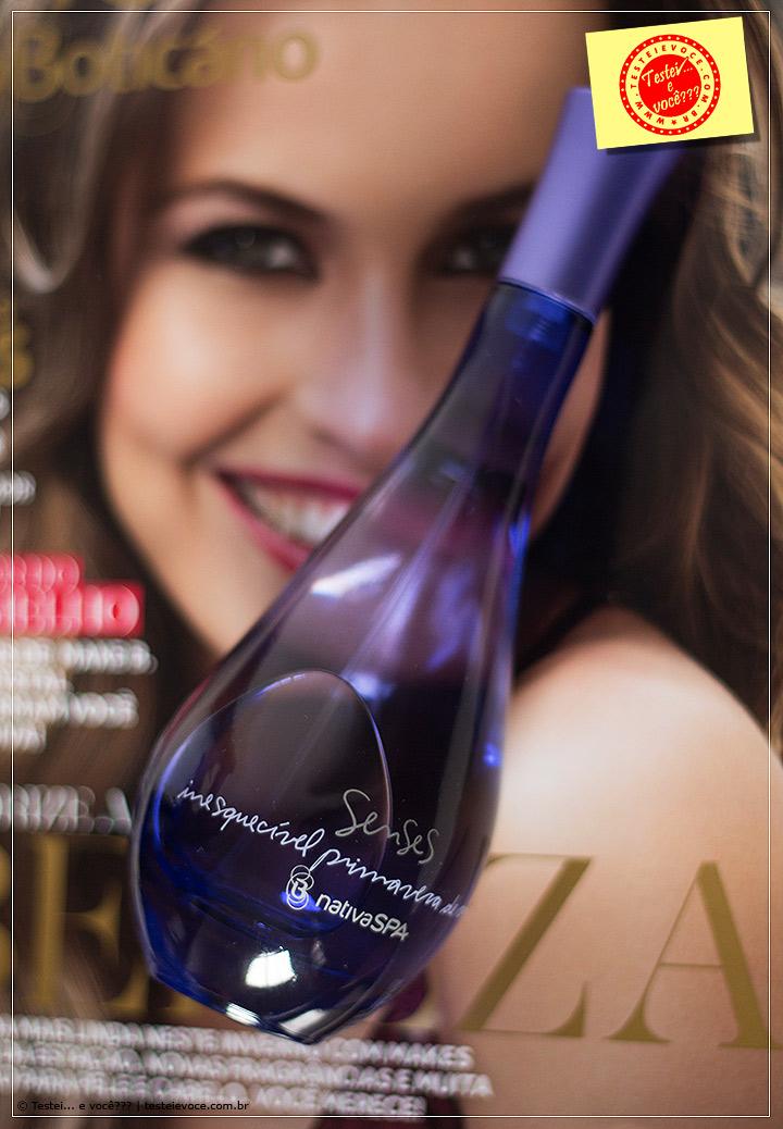 Fragrância: Senses NativaSPA Inesquecível Primavera de Amor - oBoticário