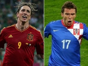 España vs Croacia vivo