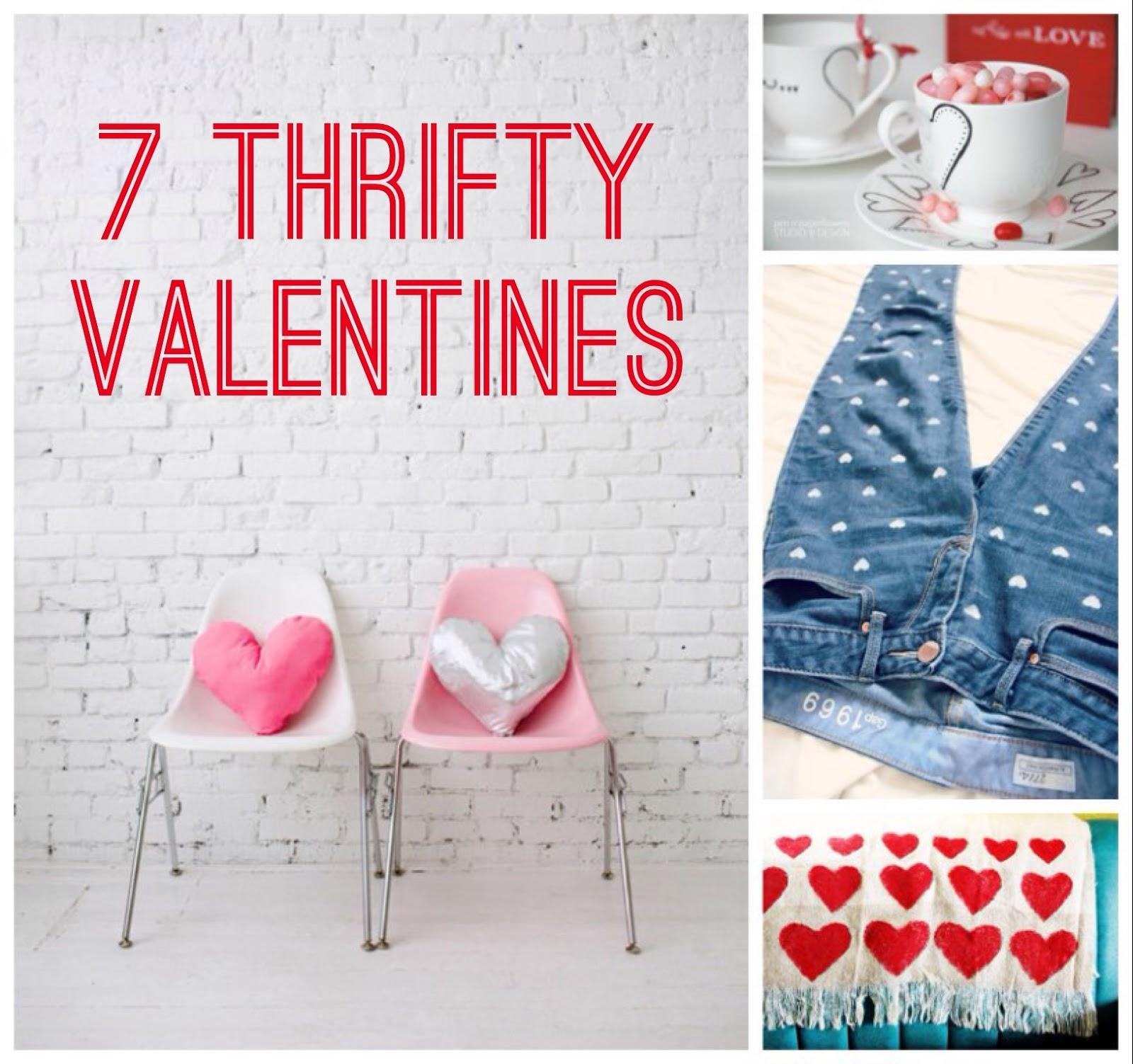 7 Thrifty Valentines