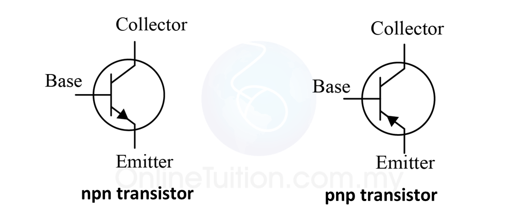 Transistors Spm Physics Form 4form 5 Revision Notes