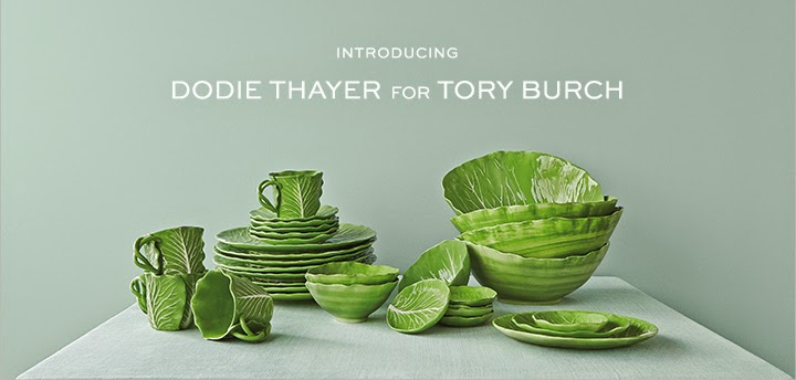 Dodie Thayer for Tory Burch