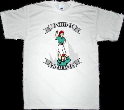 castellers castellers de vilafranca catalonia catalan t-shirt ephemeral-t-shirts