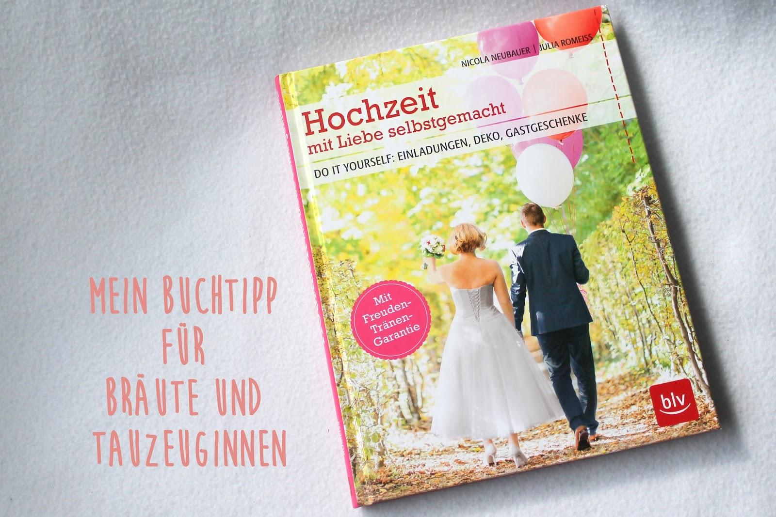 Buchvorstellung Hochzeit mit Liebe selbstgemacht Julia Romeiss und Nicola Neubauer