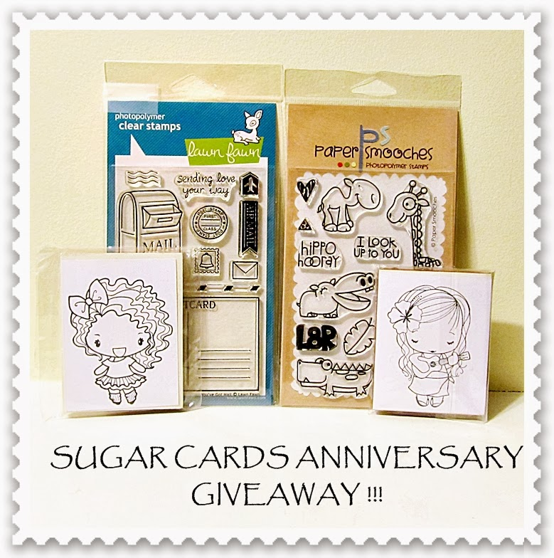 http://sugarcards.blogspot.ca/2014/01/blog-anniversary-giveaway.html