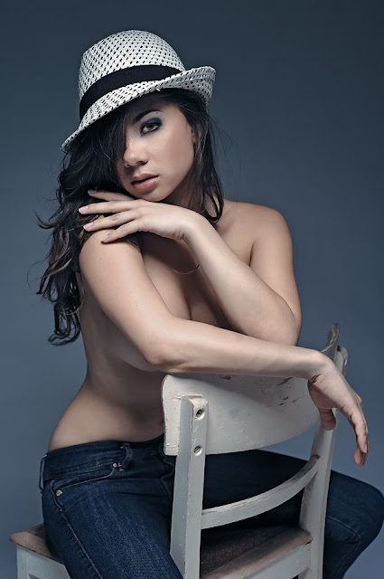South East Asian Model Jennifer Jasmin Kurniawan