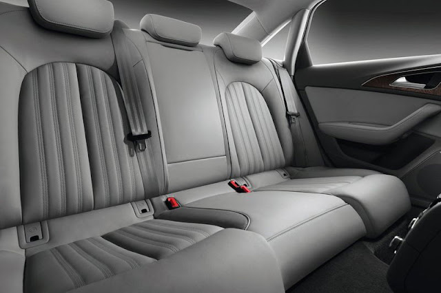 2012 Audi A6 Saloon Back Sit Interior