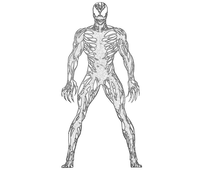 spiderman carnage coloring pages - photo#1