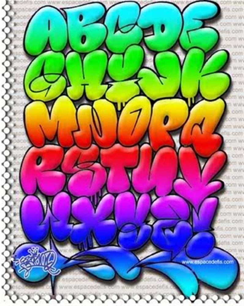 Feri nur cahyo graffiti alphabet - Letter a graffiti style ...