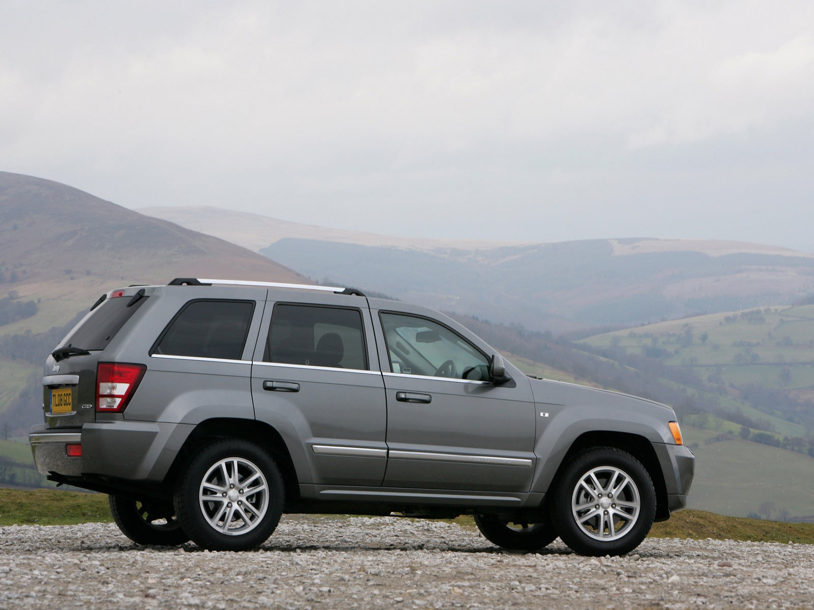 jeep jeep grand cherokee overland uk version 2008. Cars Review. Best American Auto & Cars Review
