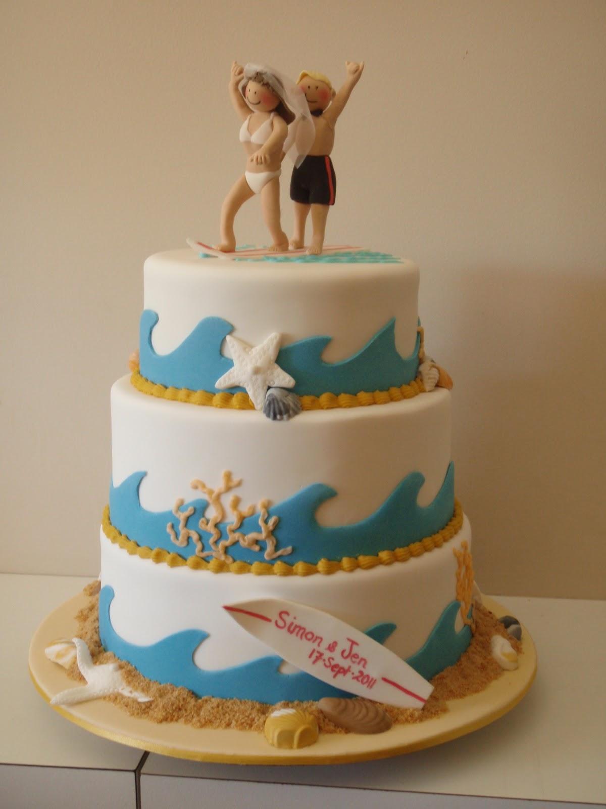 Pin Surfing Surfboard Surfer Wedding Cake Topper Hawaii Dermatology Cake On Pinterest