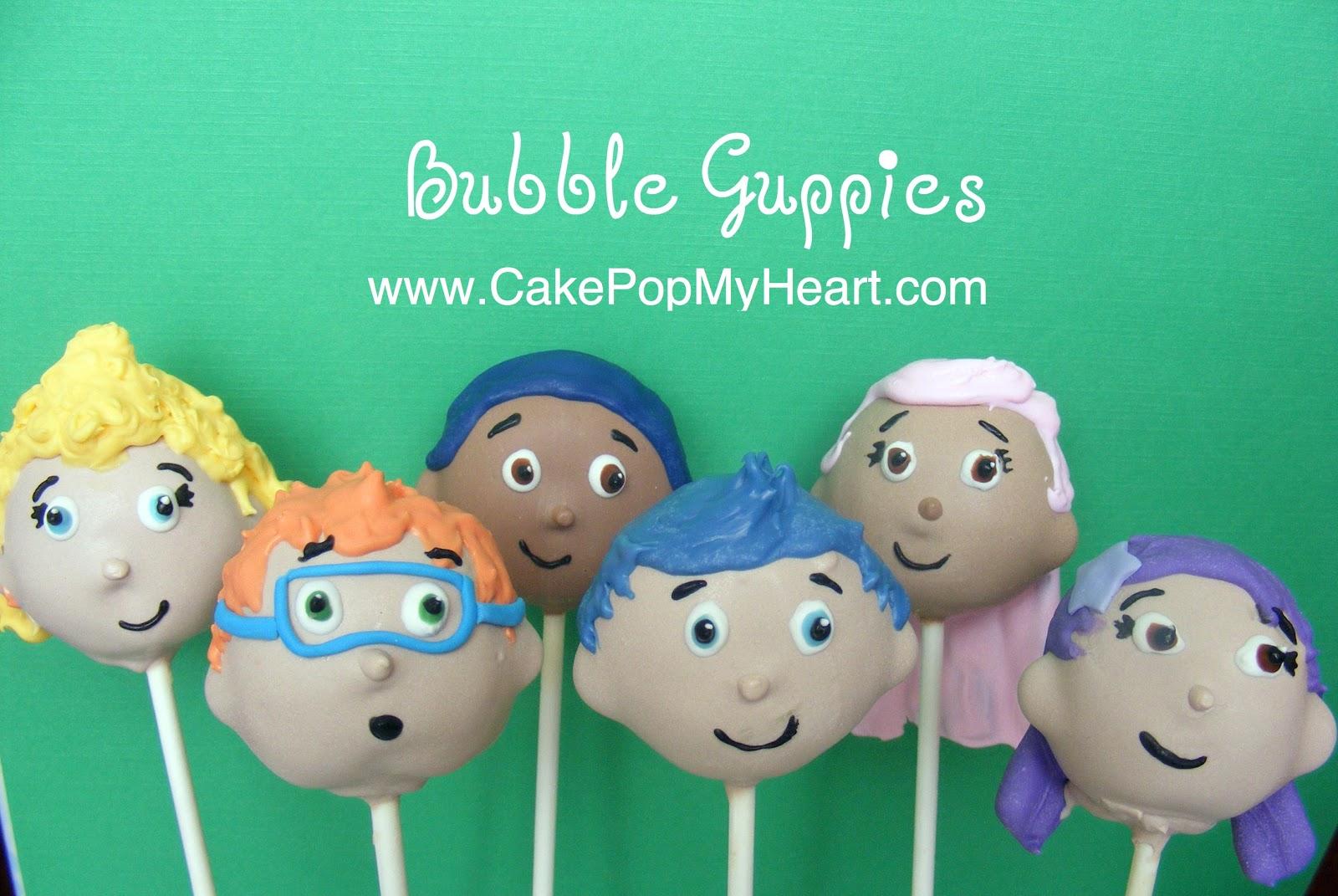 Cake Pops Bubble Guppies