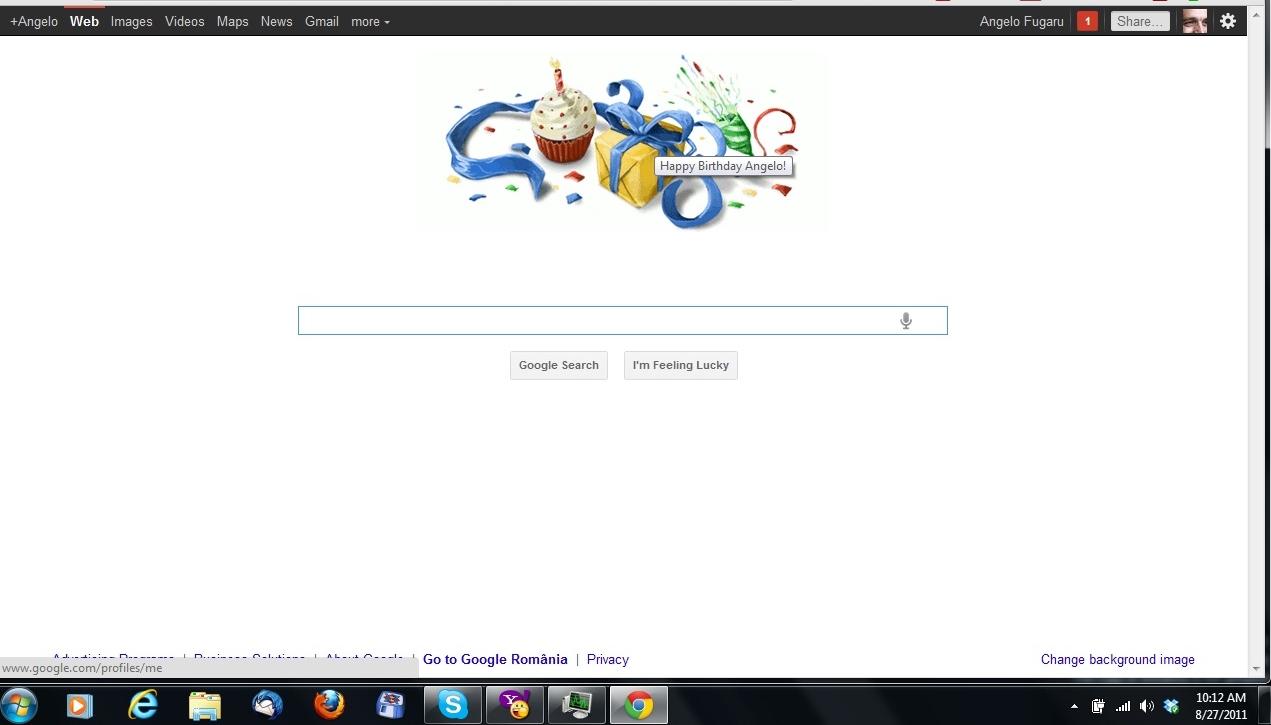 Doodle Google personalizat