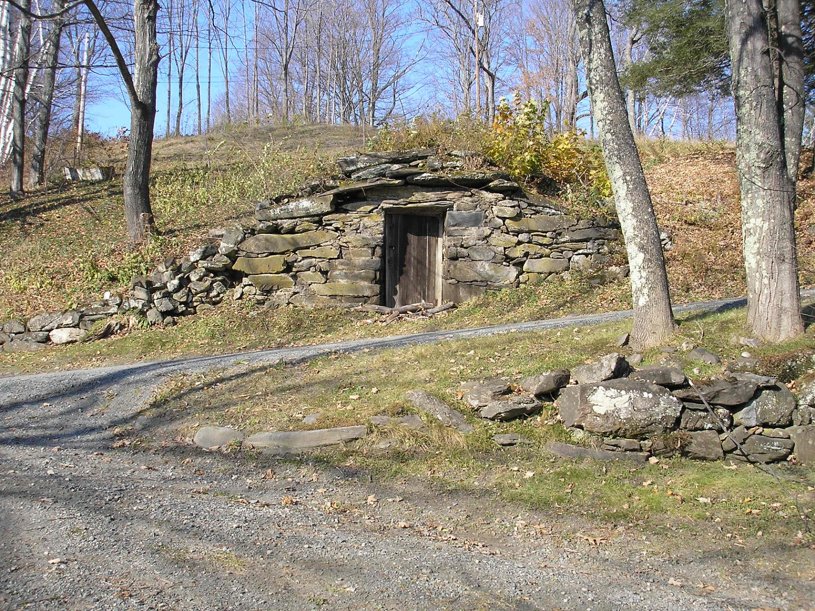 Honeyed heaven teeth health care root cellars sniffles for Cost of building a house in vermont