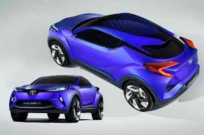 Cars Toyota C-HR Concept Trends