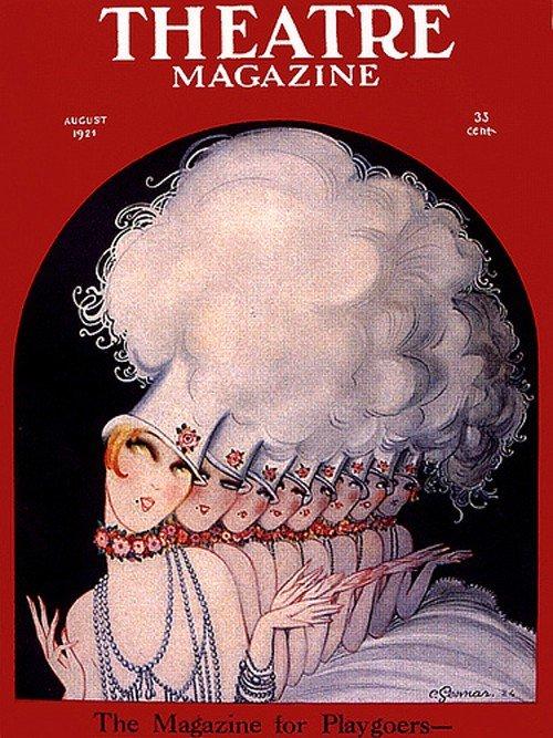 theatre magazine cover