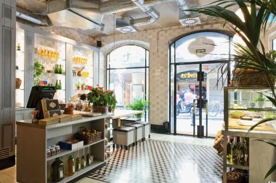 El restaurante Teresa Carles es uno de los vegetarianos más conocidos de Barcelona