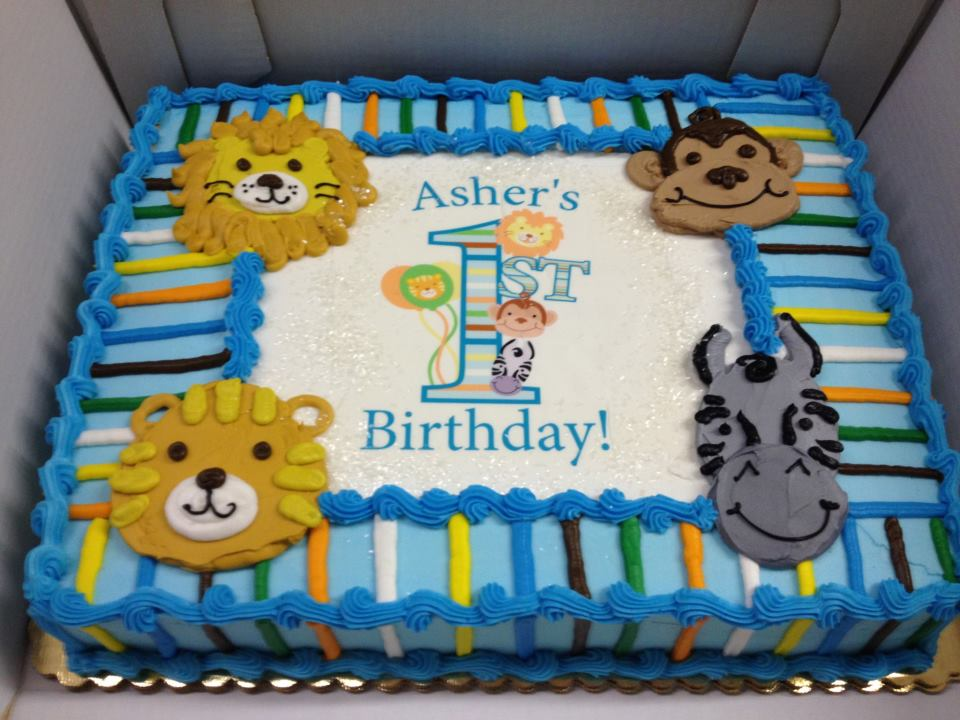 Birthday Cakes Jungle Theme ~ Leslie s cool cakes from stan s northfield bakery jungle birthday