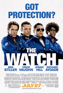 the watch movie ben stiller poster