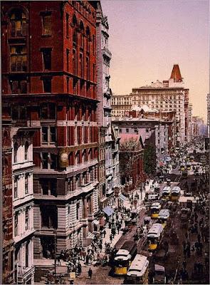 Nueva York a color a principios del siglo XX