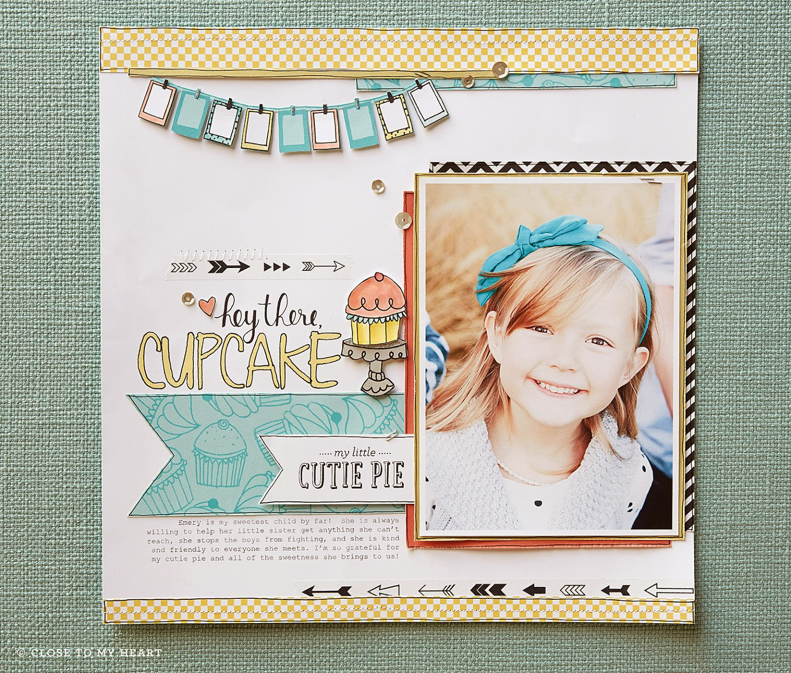CTMH Cutie Pie Stamp Set SOTM