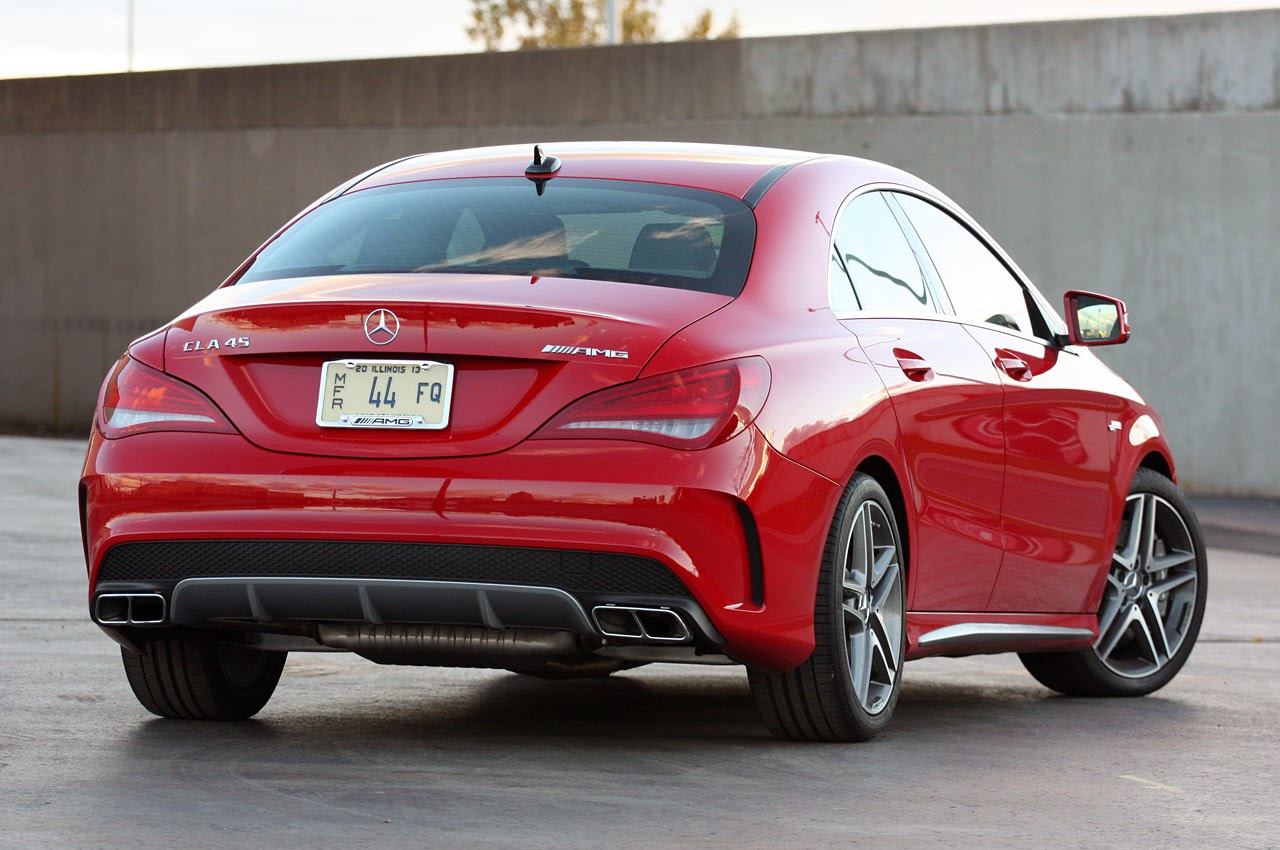 2014 Mercedes-Benz CLA45 AMG: Review Photos - Latest Auto