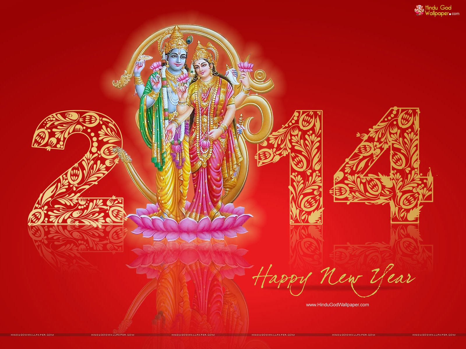 Happy new year 2014 hindu god wallpapers download voltagebd Images