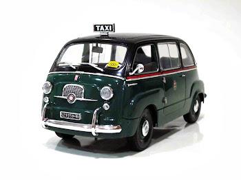 "FIAT 600D Multipla ""Taxi de Milano"" '64 - La Mini Miniera / Premium ClassiXXs / Unique Replicas"