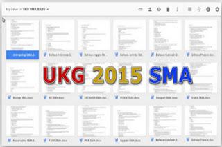 Update Soal - Soal Latihan Uji Kompetensi Guru ( UKG ) tahun 2015 untuk jenjang SMA