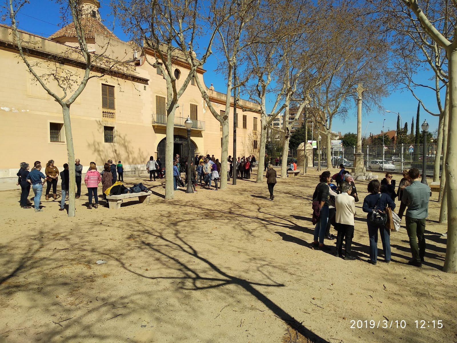 Peregrinació dels fidels de la parròquia de Sant Joan Baptista de Reus