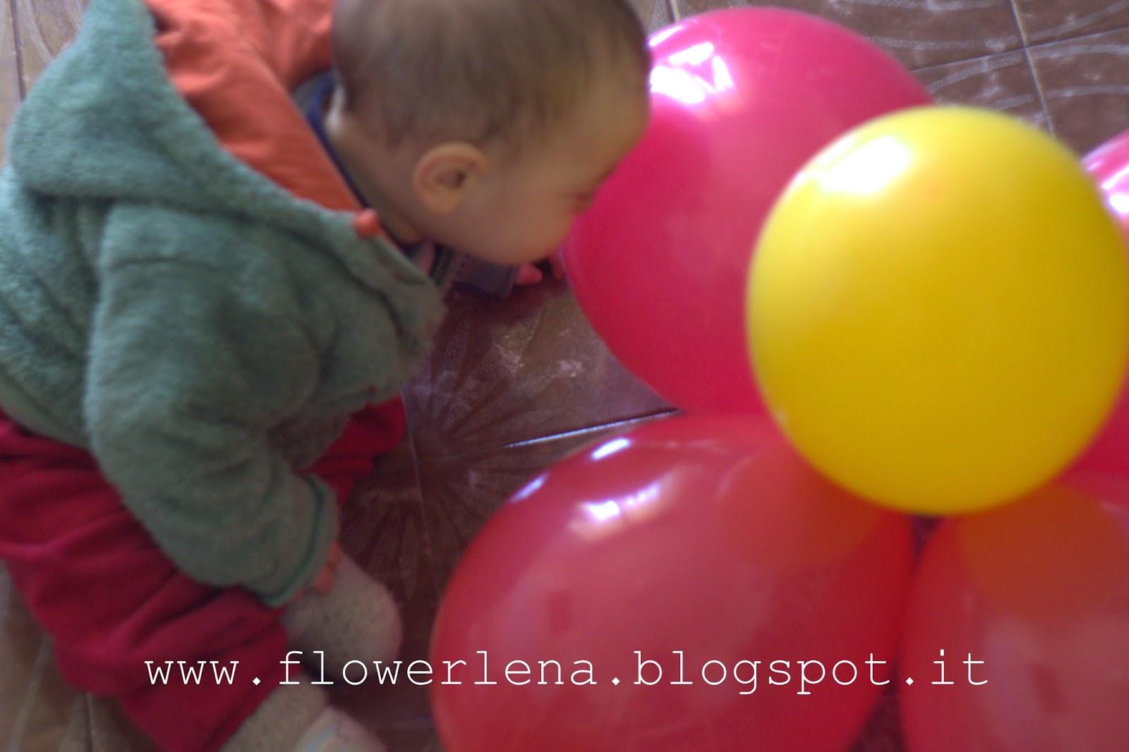 Alta priorità: fiori di palloncini