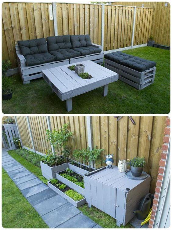 Home Garden 90 Id Es Pour Recycler Des Palettes