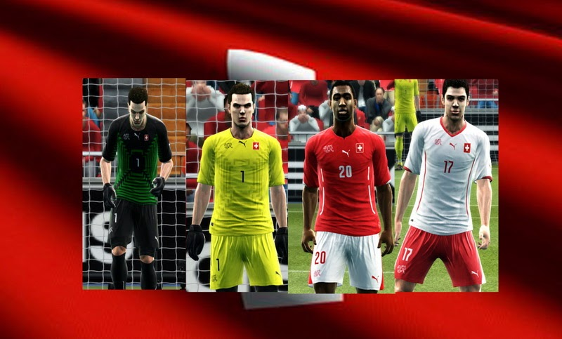 PES 2013 Switzerland WC2014 GDB Kits by argyris