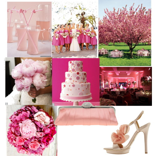 Spring Pink Wedding Inspirations Posted by Trendee Flowers