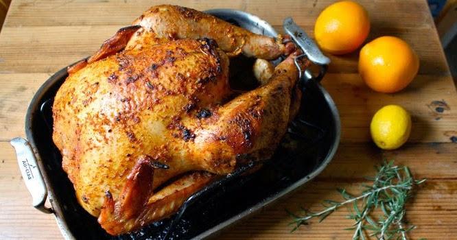 Lighter Fare For Thanksgiving: Citrus-Herb Roasted Turkey