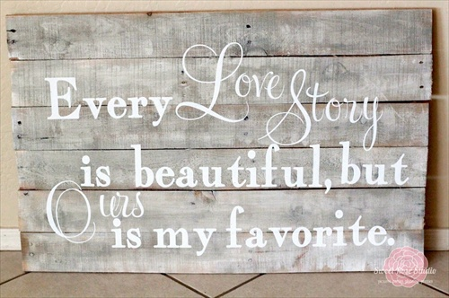 Wood Pallet Wall Decor diy: decorating your home with pallet wall art | pallet furniture