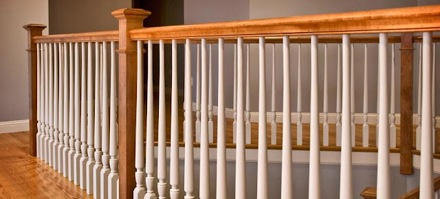 Stair railing system ayanahouse