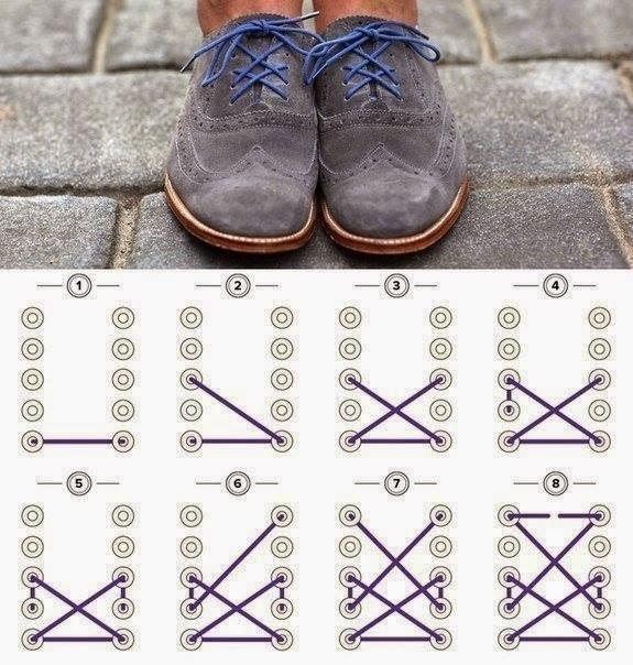 Tutorials To Tie shoelaces beautifully