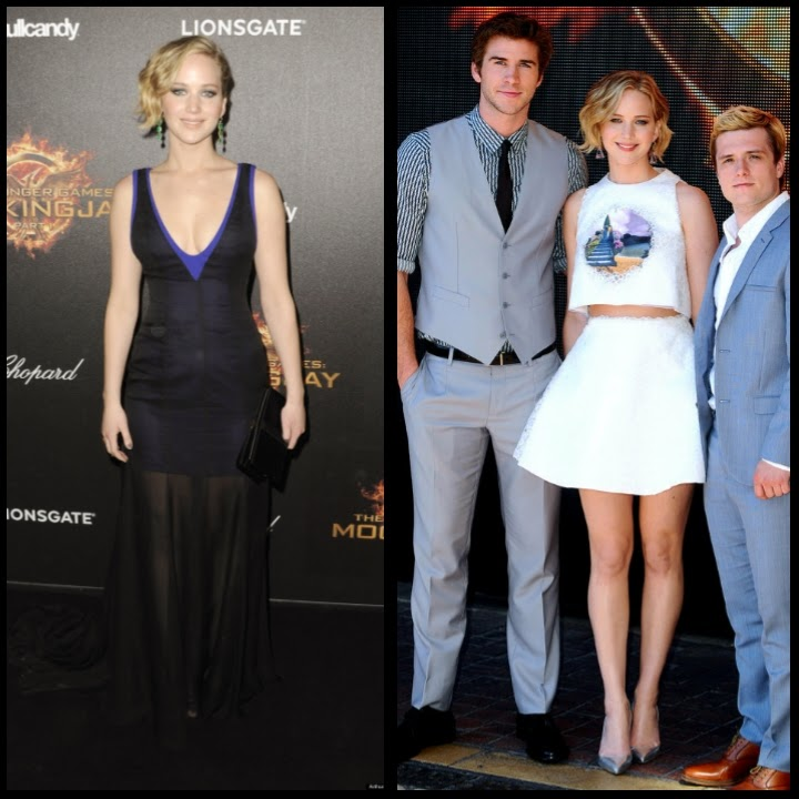 Jennifer Lawrence gorgeous looks 2014