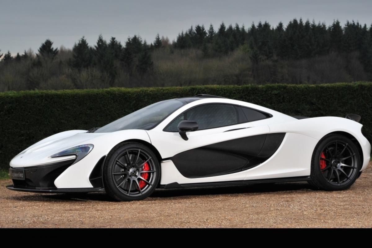 صور سيارات: ماكلارين McLaren P1