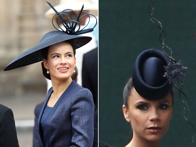 Fascinators Hats Here And There In The Royal Wedding
