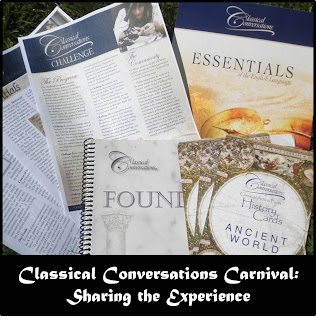 http://www.halfahundredacrewood.com/search/label/CLASSICAL%20CONVERSATIONS%20BLOG%20CARNIVAL