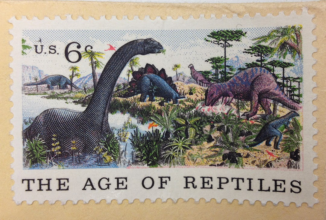From dna to dinosaurs for Age of reptiles mural