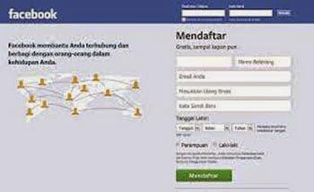 cara membuat (membikin)akun facebook (FB) dengan mudah dan cepat
