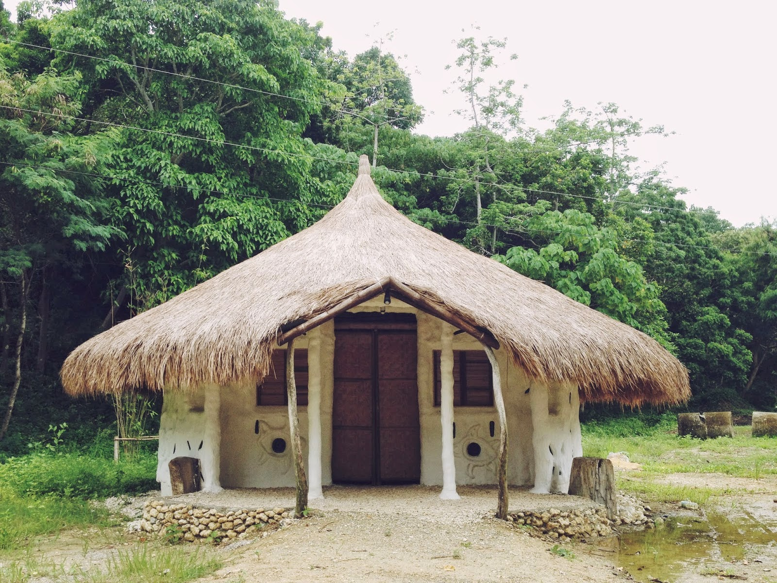 how to build a slab hut