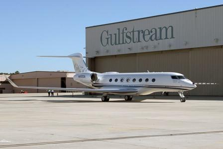 produsen pesawat terbang gulfstream aerospace