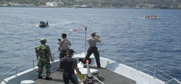 TNI AL Perkuat Jaga Kepulauan Sabang